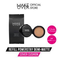 MAKE OVER Refill Powerstay Demi-Matte Cover Cushion - C51(Exp6-12bl )