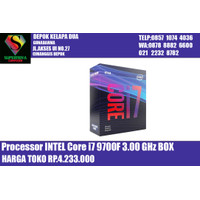 Processor INTEL Core i7 9700F 3.00 GHz BOX