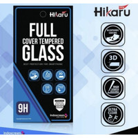 Xiaomi Poco X3 NFC Hikaru Tempered Glass Full Cover Anti Gores Kaca