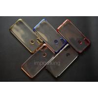 Samsung A11 SHINING CHROME TPU CASE CLEAR Silicone Case