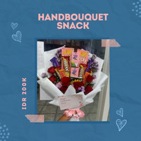Handbouquet snack/ Buket Jajan surabaya