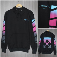 hoodie pria off white sweater distro jumper premium