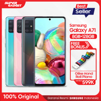 Samsung Galaxy A71 8/128GB Free Olike Hand Roll Piano - Original