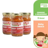 Pureeland Baby Sauce Bolognese / MPASI Bayi Organik / Makanan Bayi