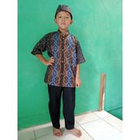 Baju Muslim Setelan Koko Anak 5 – 6 ... 13 Tahun Tangan Pendek