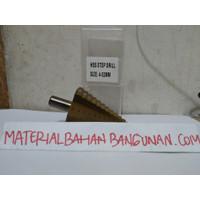 Mata Bor Pagoda Payung 4 - 52 mm Bor Susun Multi Step Cone Drill HSS