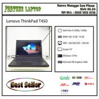 Lenovo ThinkPad T450 |Core i5-Gen 5 |Camera - RAM 4-HDD 500