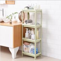 Rak Kamar Mandi/Ruang /Dapur Plastik 4 Susun Penyimpanan - RT016