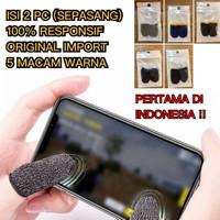 Sarung Jempol Jari Anti Basah Keringat Layar HP PUBG Mobile Legend FF