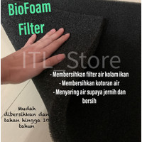 BUSA BIO FOAM FILTER AQUARIUM AQUASCAPE 25x10x5 cm