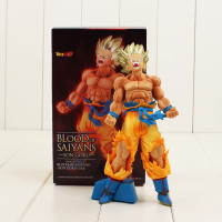 Action Figure Blood Of Saiyans Son Goku Dragon Ball Z PVC