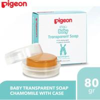 Pigeon Transparent Soap Chamomile + Case