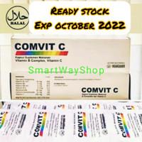 Vitamin C ComVit Vit C 500 MG + B Complex 1 Box isi 100 Ready Stock