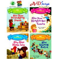 buku cerita anak bergambar : Seri aku taat aturan