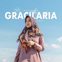 HIJAB DEENAY SIGNATURE GRACILARIA GRAPHITE