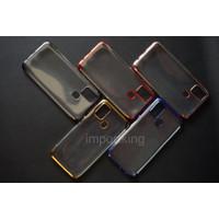 Samsung M31 SHINING CHROME TPU CASE CLEAR Silicone Case