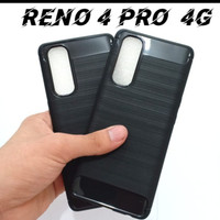 OPPO RENO 4 PRO NEW SOFTCASE SLIM FIT SPIGEN CARBON