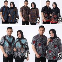sarimbit batik couple pasangan kemeja blouse
