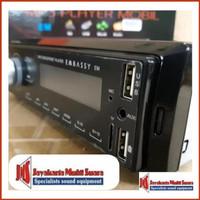Terbaru tape mobil bluetooh usb sd embassy support control lewat hp