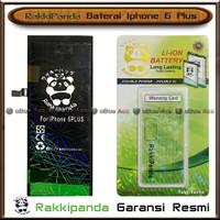 Baterai Iphone 6 Plus 6+ Double Power Batre HP Rakkipanda Original