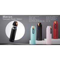 BOTTLE MINUM X&W J2265 STAINLESS STEEL 304 VACUUM FLASK 350ML BPA FREE - Biru