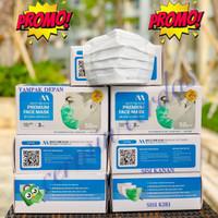 Masker Medis Multi One Plus 3 Ply / Lapis isi 50 Earloop - KEMENKES - - MOP PUTIH 50PCS