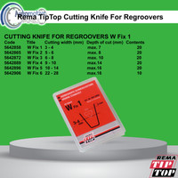 Rema TipTop Wfix1 Cutting knife for regroovers 5642858