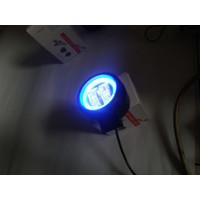 LAMPU LED MOTOR MOBIL 20 WATT 4D LAMPU TEMBAK KOTAK BULAT UNIVERSAL