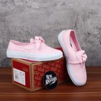 Sepatu Vans Authentic Knotted Pita Pink White DT BNIB