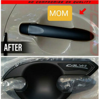 Paket Cover Handle Pintu+ Outer Mangkok Hitam Black Otoproject Calya