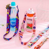 tali gantungan botol minum mineral cartoon bottle strap hck006