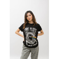 KAOS / T-SHIRT PINK FLOYD TOU 1972 - 1973 | ROCK BAND LEGEND | MUSIK