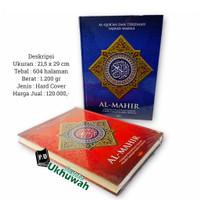 Al Mahir Al Quran Terjemah Rasm Utsmani Tajwid Warna A4