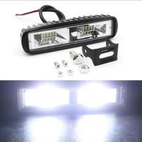 LAMPU TEMBAK MOBIL MOTOR LED BAR CREE 16 MATA 20W 12V LED UNIVERSAL