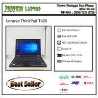Lenovo ThinkPad T420 |Core i5-Gen 2 |Camera - RAM 8-HDD 500