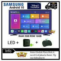 SAMSUNG LED DIGITAL TV Smart Android Box Ram 2GB [32 Inch] 32T4003