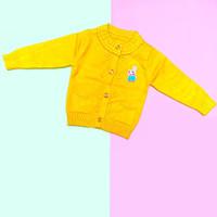 Baju Sweater Rajut Cardigan Atasan Anak Perempuan Import Real Pic No12