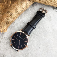 Jam Tangan Pria | Men's watch Hannah Martin Original Simple Design - JB1