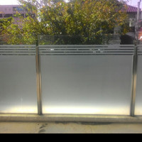 Stiker kaca Es Sanblas 150 cm / Cocok buat Rumah Gedung & Perkantoran