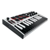 Akai MPK Mini MK3 SE White - Ultra Portable USB Midi Keyboard 25Key