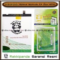 Baterai Motorola E4 Plus E4+ HE50 Double Power Batre HP Rakkipanda