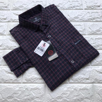 Kemeja Flanel Cowok Lengan Panjang Kotak kotak Levis | Baju Flannel