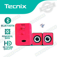 Speaker Wireless - Cable Aux TECNIX SPK-B080 Audio with Subwoofer