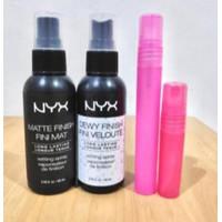 [SHARE] in Bottle NYX Setting Spray Dewy & Matte Finish ORIGINAL