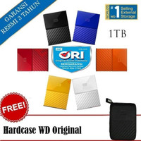 WD My Passport Hardisk External 1TB USB 3.0