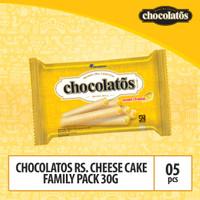 Chocolatos Rs Cheese Cake Family Pack -30g x 5 Pcs (WJU5)