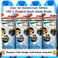 Air Disinfectant 500 ml 500ml Zone Air Disinfectant 500ml Asli