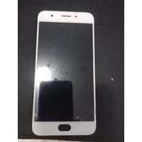 LCD + TOUCHSCREEN + FRAME OPPO A57 ORIGINAL OEM 100% BERGARANSI - BLACK