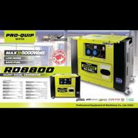 Genset Solar Silent PROQUIP RD 8800 / PROQUIP RD8800 Genset 5000 watt