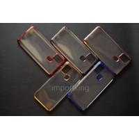 Samsung A21s SHINING CHROME TPU CASE CLEAR Silicone Case